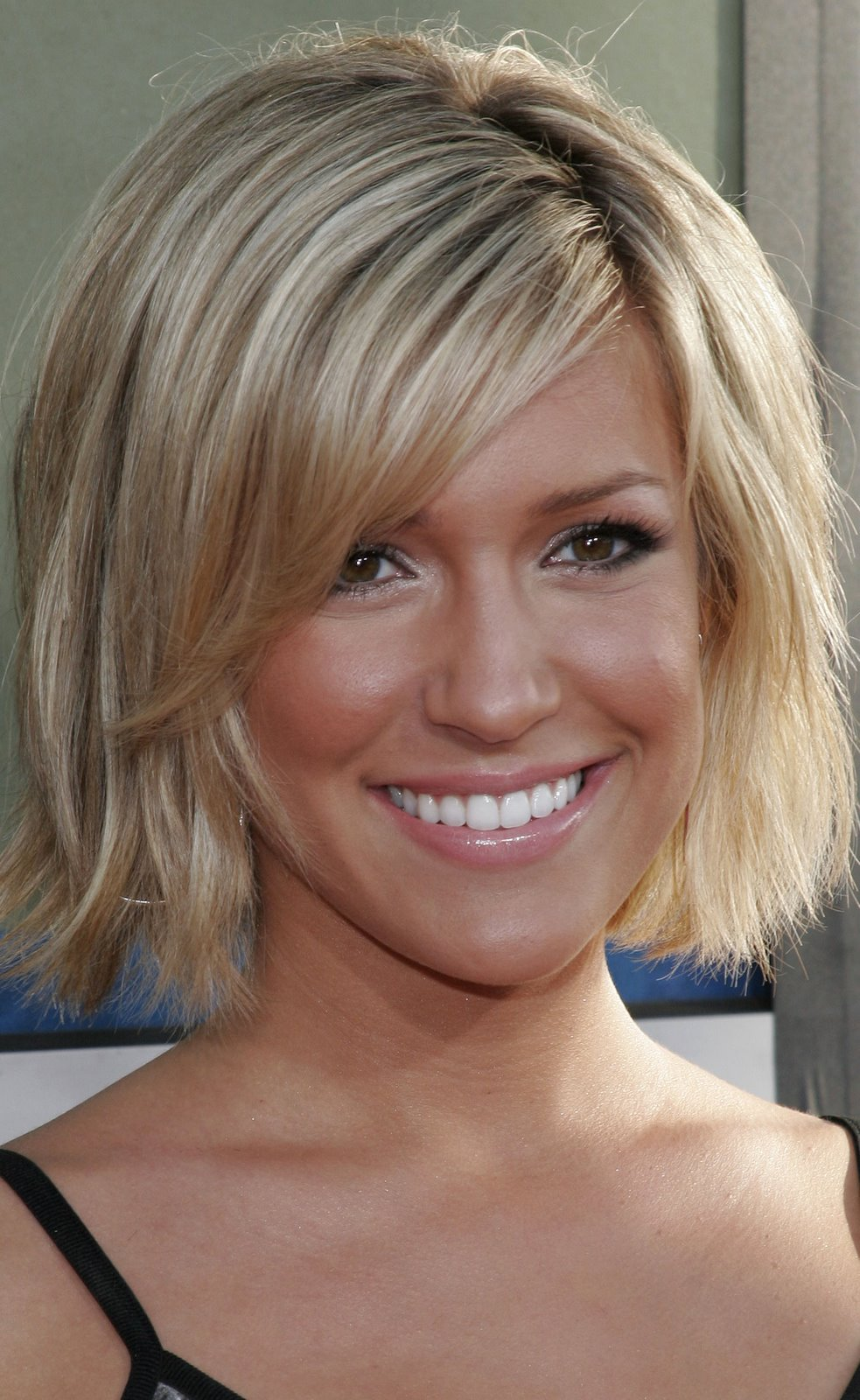 short celebrity hair styles and their old family pictures with
