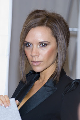 Victoria Beckham medium bob hairstyles
