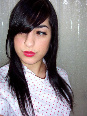 Long Black Emo Hairstyle. Posted by Popular Hairstyles at 3:43 AM