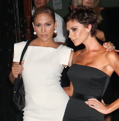 jennifer lopez hair 2009. Jennifer Lopez and Victoria