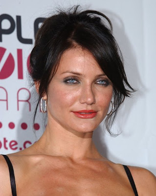 Medium Length Dark Hairstyles. Cameron Diaz Medium Length