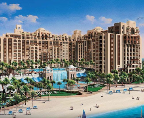 Amazing dubai islands dubai islands palm jumeirah for Hotel dubai palm