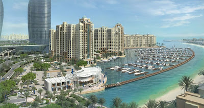 The Palm Jumeirah Dubai Islands - Infrastructural Developments