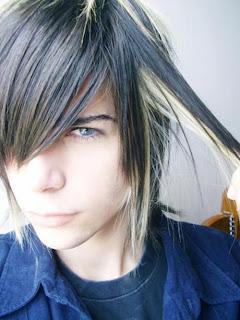 Cool Emo Boy  Hair