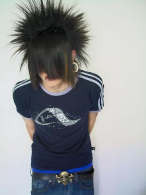 How to make Scene/Emo hairstyle 1.