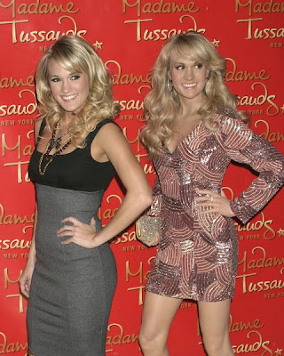 Carrie Underwood has a hairstyle that can look cute, sassy,