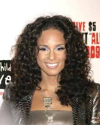 Alicia Keys Hair