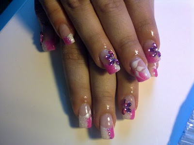 Glamorous And Beautiful Nail Art For Special Occasion 2010