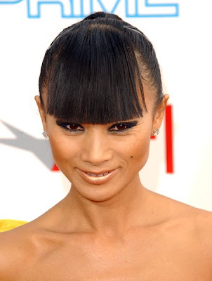 short fringe hairstyle. 2009 Hairstyle Trends: Short Medium Bob Haircuts