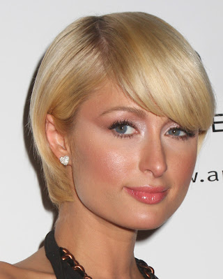bob hairstyles bangs. Blonde Angled Bob Haircuts