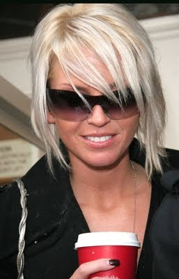 Sarah Harding Great Celebrity Emo Hairstyles