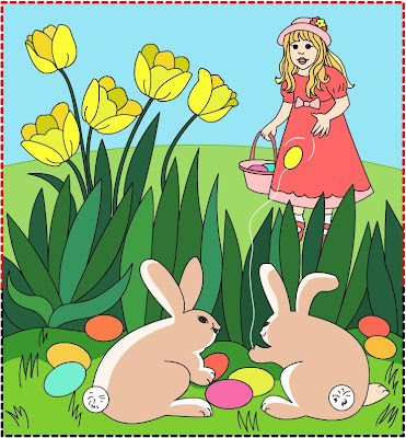 easter bunny pictures to color. coloring pages of easter bunny