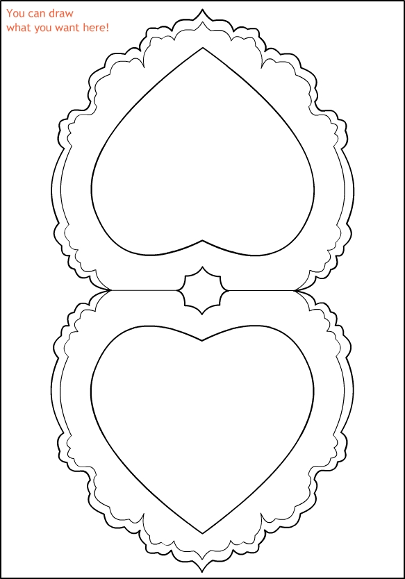 vintage valentine coloring pages - photo#3