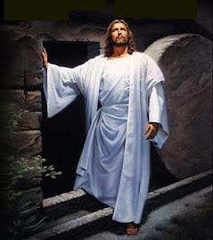 ...E ele esta ressucitado ao teu lado rezando e intersedendo por ti junto de você.