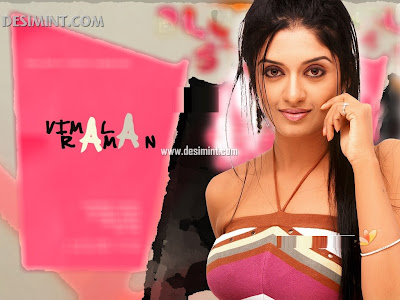 Sexy South Indian Actress Vimala Raman Hot Cleavage and navel show photos