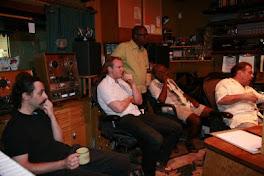 "Recording ""Stellar Moments"" CD"
