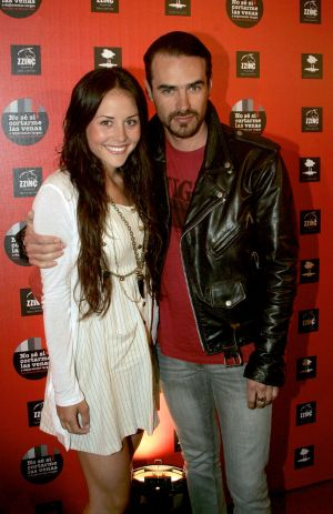 Zuria Vega y Jorge Poza