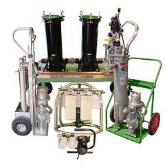Mobile Filtration Cart | Precision Filtration Products