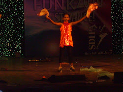 At the Shiamak Davar's Summer Funk show