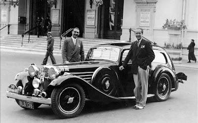 Historic rally amp classic race cars ss 100 a jaguar is born