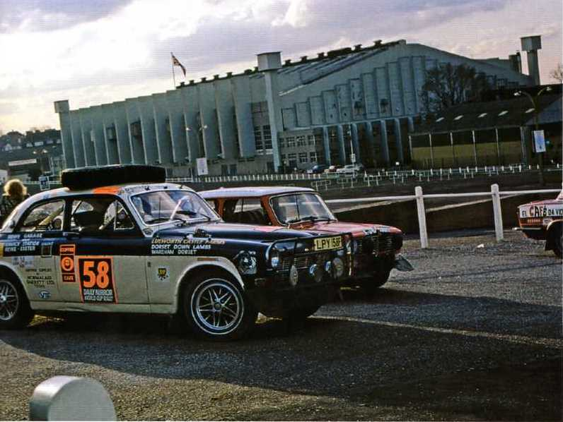 O #51 era outro sueco - Saab V4 - que não chegou na final.