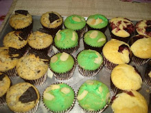 Muffin (Oreo/Pandan/Blueberry)