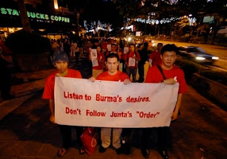 Listen to Burma's Desires, Don't Follow Junta's Order