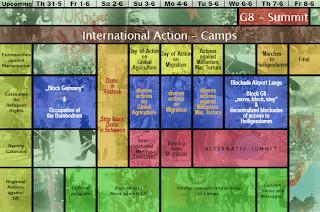 G8 Schedule