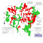 LONDON's Infant Mortality/Incinerator location Map,2002-2005