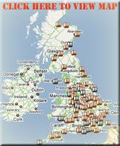 UK INCINERATOR SITE MAP