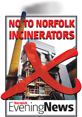 NO TO NORFOLK INCINERATORS by Norwich Evening News