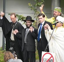 18.juuli 2009.aasta  Sõltuvusohvride sammas sai nurgakivi.