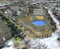 Politechnika Warszawska 3D Google Earth