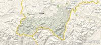 Virtual Earth - Tatry, cieniowanie terenu