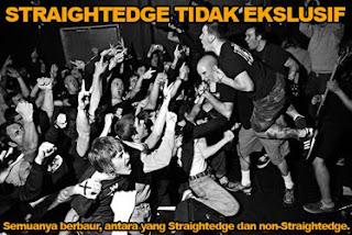 Straightedge Tidak Ekslusif