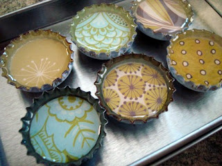 Glass Magnets, handcrafted gifts