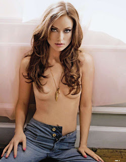 Olivia Wilde topless FHM Magazine 2011 photo