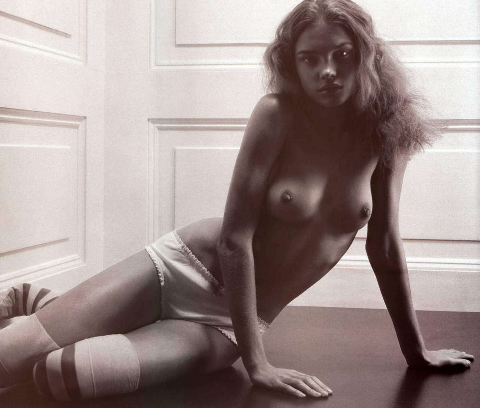 Natalia Vodianova topless young Pop magazine ALL of our content and customs will be shot in a PRO WRESTLING RING (bout ...