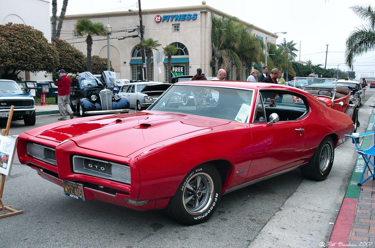 1968 Pontiac GTO Classic Car Pictures