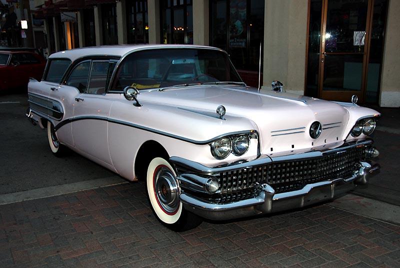 Classic Car Pictures 1958 Buick Century Caballero 02