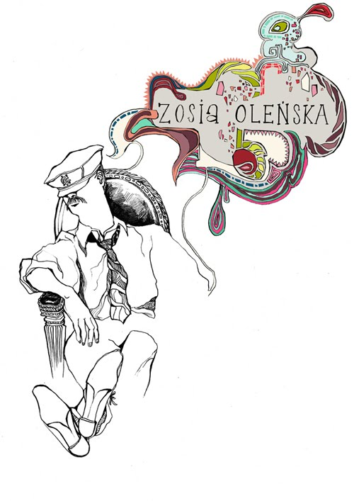 Zosia Olenska's art blog