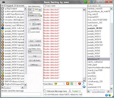 yahoo chat room destroy