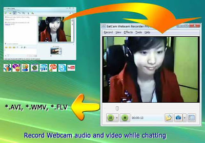 yahoo webcam record