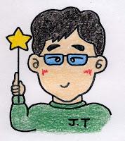 高橋さんの似顔絵