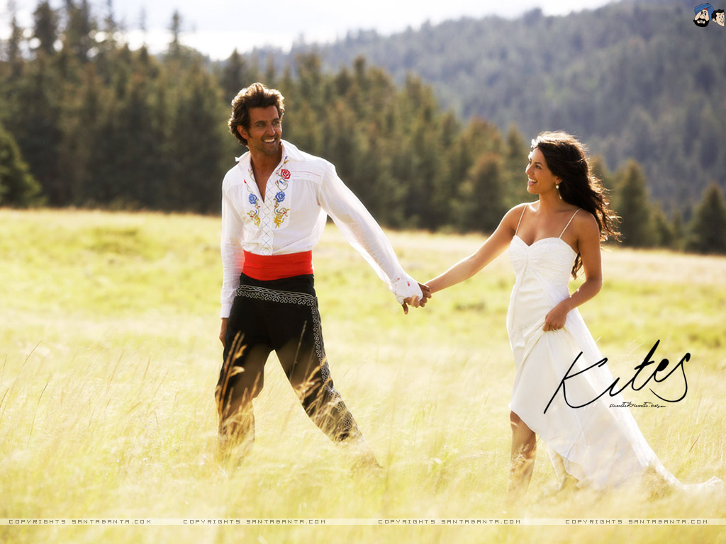 hrithik and barbara kites wallpaper