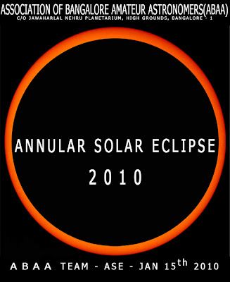 Annular Eclipse 2010 ABAA Bangalore