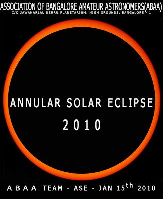 Annular Eclipse 2010 ABAA Bangalore
