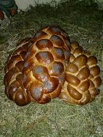 різдвяний хліб — плетенка