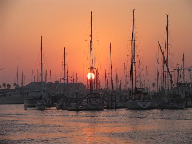 Sunrise at Corpus Christi, Texas
