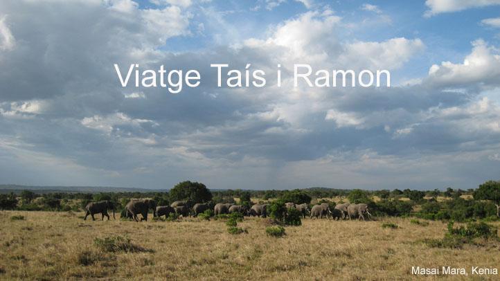 VIATGE TAIS I RAMON